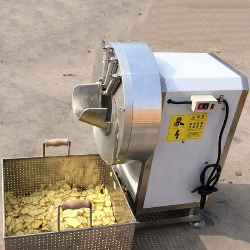 High Quality Commercial Ginger Slicer Slicing Machine For Factory