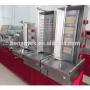 New Style 5 Gas Burners Turkey Gas Doner Kebabs Grill Shawarma Oven Machine