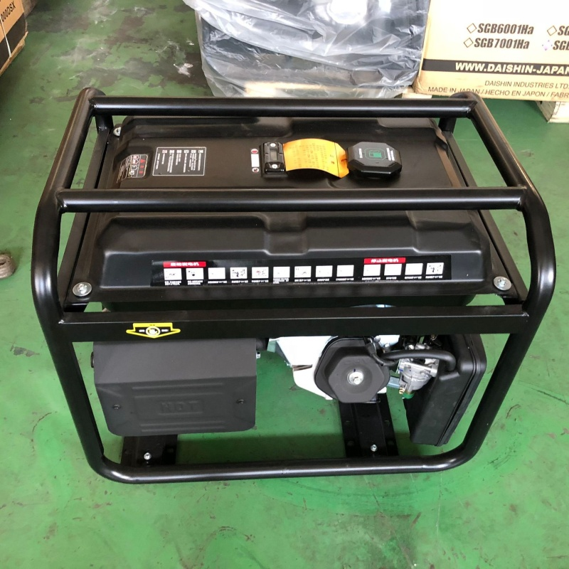 Good Quality Lowest Price From Factory Firman 7kw Portable Gas Home Gasoline Generator with Silencer