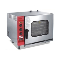 Wr-6-11 Electric Commercial Industrial Steam Injection Deck Convection Toaster Oven Universal Thousand Usages Ovens
