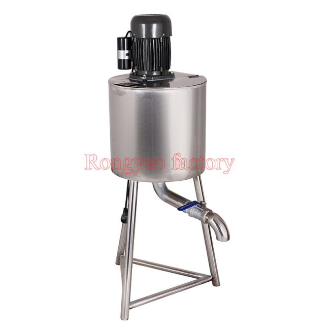 60L Stainless Steel New Make More Ice Cream Mixing Tank Cream Mixer Homogeneous Machine