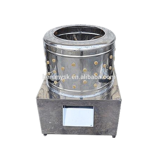 Fully Automatic Poultry Hair Removal Machine Chicken Plucker Machine 3-5 Pieces Once Time Chicken Duck