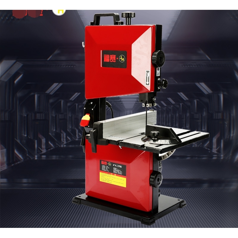 8'' 9'' Woodworking Band Saw Machine Household Multifunctional Metal Small Processing Equipment Mechanical Woodworking Curve Saw