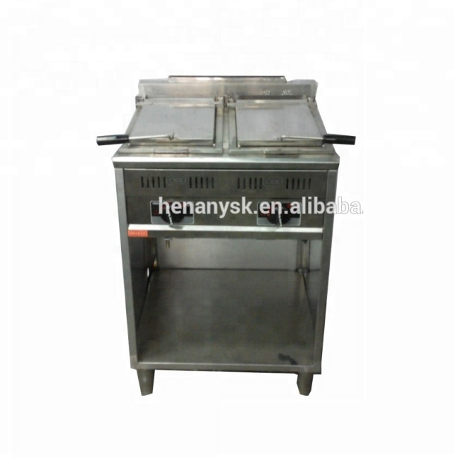 Commerical Vertical Gas Pancake Fried Soup Dumplings Machine