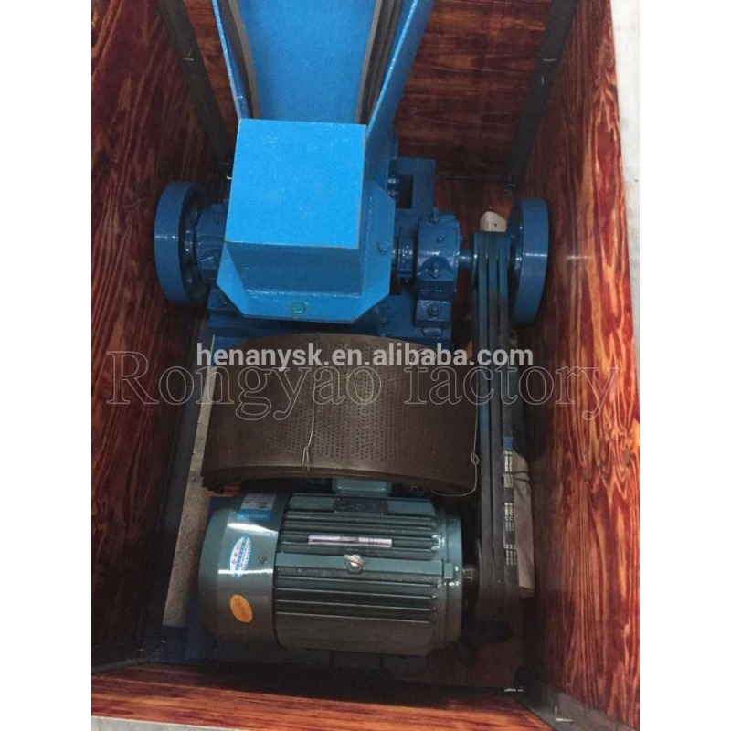 IS-200x500 Portable Ore Crusher Small Diesel / Electric Hammer Mills for Sale