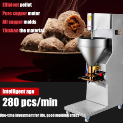 10-32mm diameter options 200pcs/Min Meat Ball Maker Meatball Making Molding Machine
