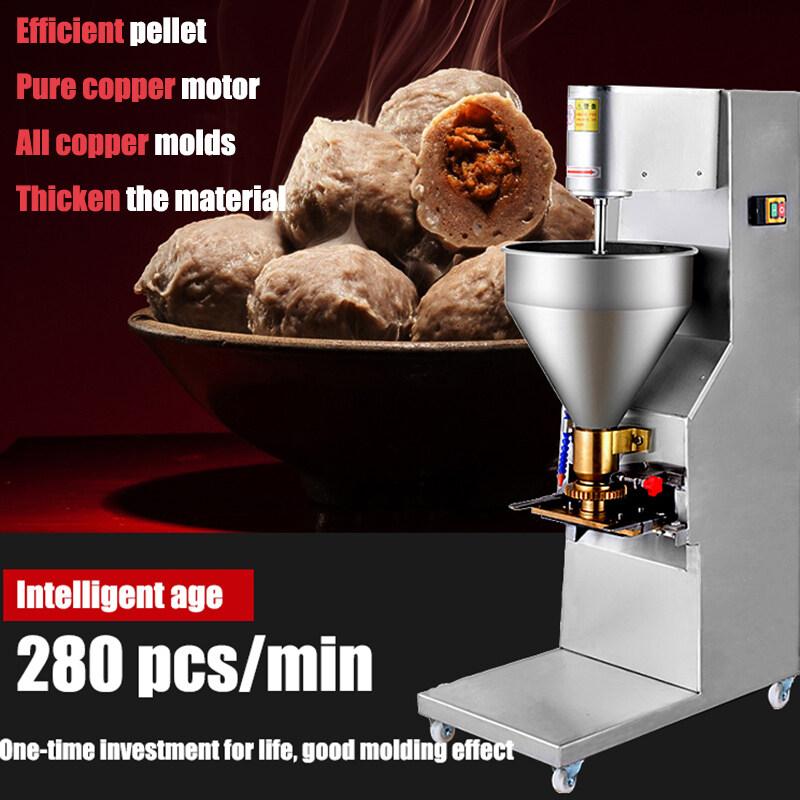 10-32mm diameter options 200pcs/Min Meat Ball Maker Meatball Making Molding Machine