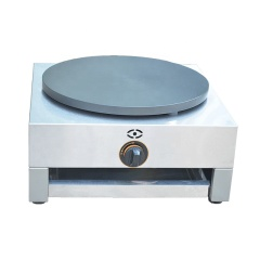 Gas SINGLE Plate Crepe Machine Snack Electric Hot Plate Crepe Maker Machine