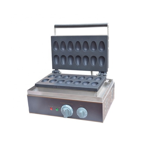 FY-14 Stainless Steel Electric Nonstick QQ Egg Waffle Machine Baker 14 Pcs No-Stick Pan With Timer 0-5 Minutes 50-300 Degree