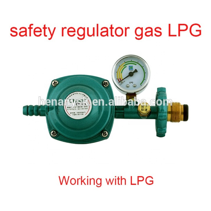 Pressure Valve LPG Gas Big Flow Volume Pipeline Pressure Valves Gas Regulator Technology Safety Relief Valves for Gas/ LPG