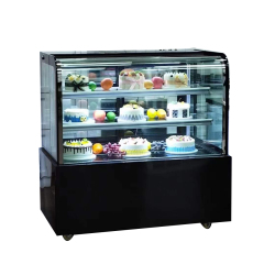Black color 2021 Japanese Upright New Production Commercial Cake Showcase Cabinet  Refrigerator