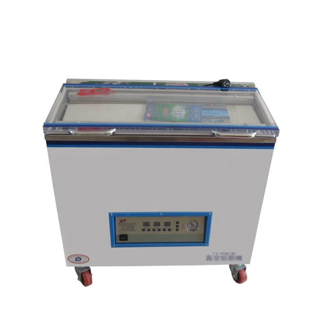 Storage Bags Forming Plastic Bag Food Semi-Automatic Price for Packing Machine Vacuum Sealer