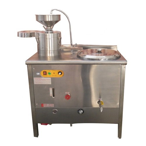 40L Automatic Commercial Soymilk Tofu Soybean Milk Bean Curd Forming Making Machine Gas heating or Electric heating