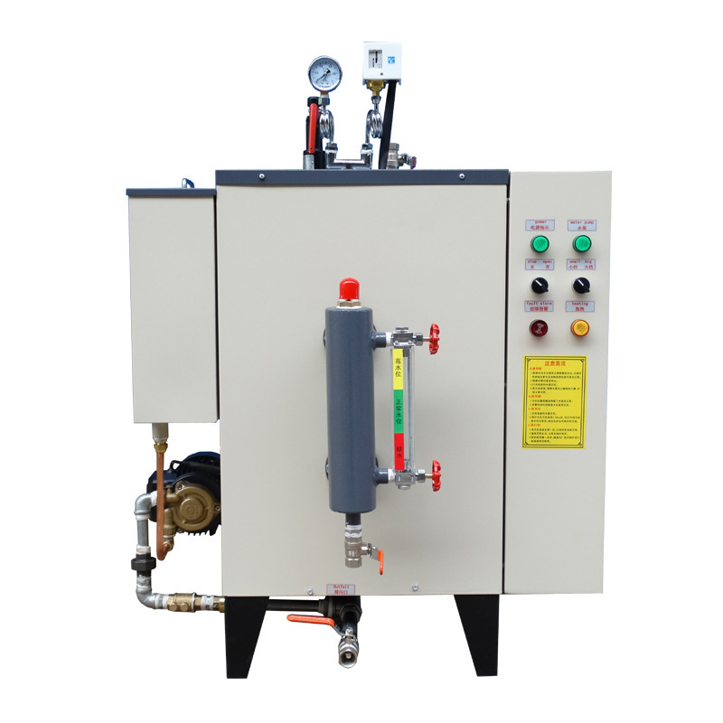 50Kg/h Electric Heating Systems Hot Steel Steam Boiler For Food Processing Machinery Soybean Boling Use