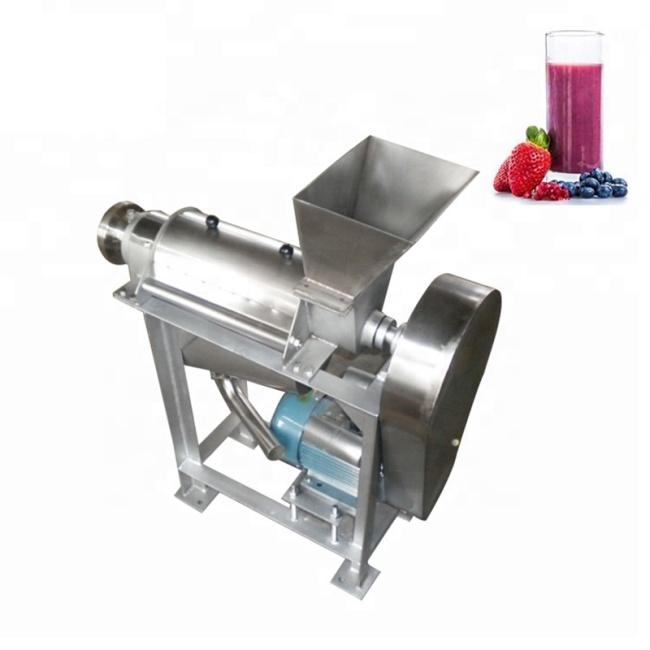 100-500kg/H Spiral Juice Extractor Multi-Function Juicer Industrial Automatic Apple Orange Vegetable Juicer Apple Juicer