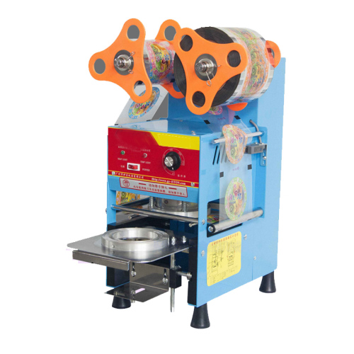 Diameter 95/75mm Cup Sealer Cups Semi Automatic Electric Counting Sealing Machine