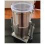 220v 50hz 60w 4L 0.1-3kg  lab Spining Mixer Cosmetic desktop Plastic pellets medical material color Powder Mixer mixing Machine