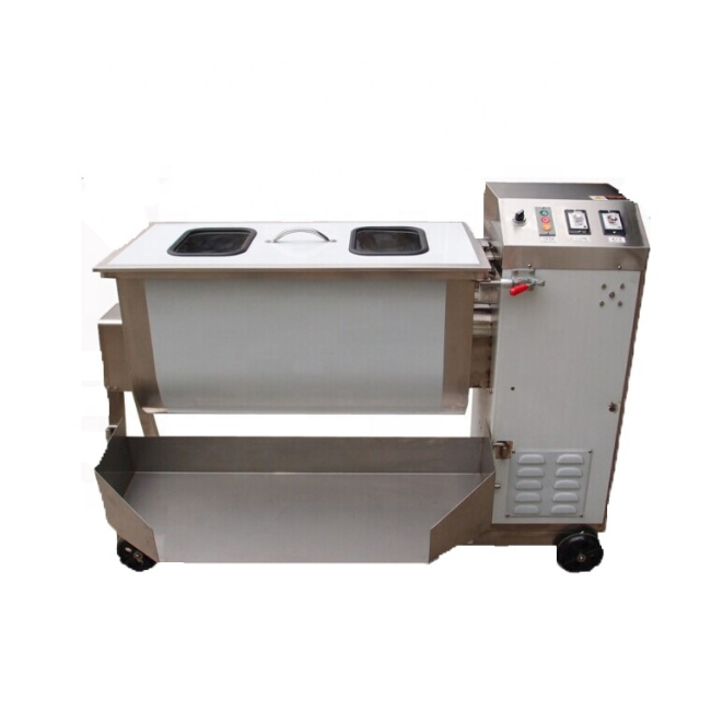 150L Stainless Steel Multi-functional Stirring Machine Single Shaft Meat Mixer Sausage Fast Meat Mixing Machine