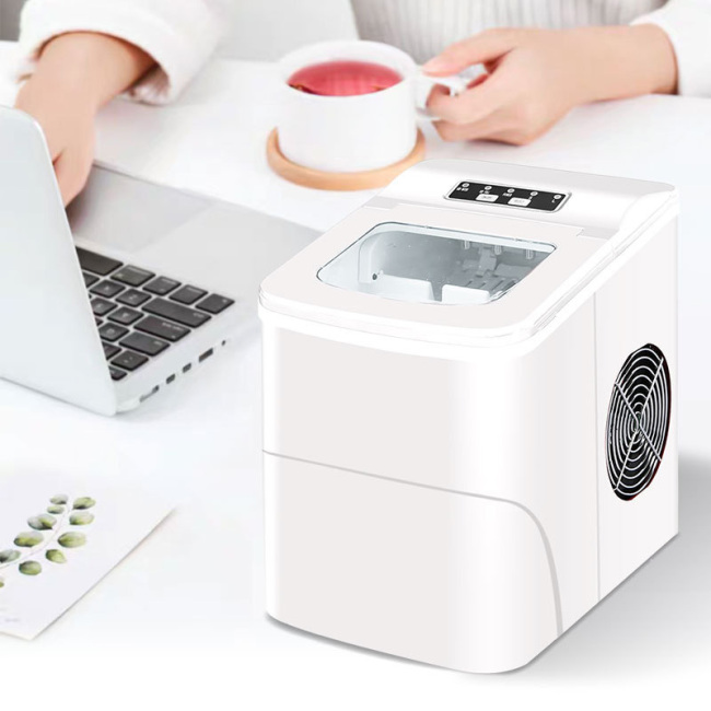 Commercial 15kg Ice Maker Household Automatic Small Dormitory Student Round Ice Mini Ice Cube Makers