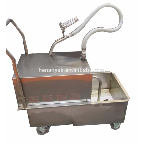 50L Stainless Steel Oil Shortening Filter Machine