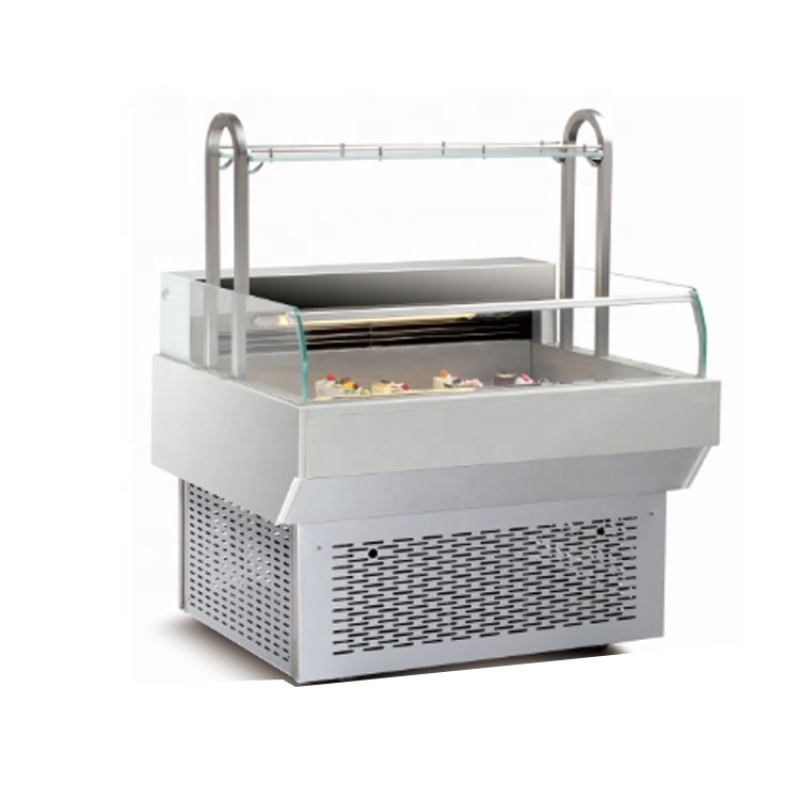New Direct Deal Marble Sandwich Cake Refrigerated Display Showcase Cabinets Pastry Cake Fresh-Keep Refrigerator Bakery Equipment
