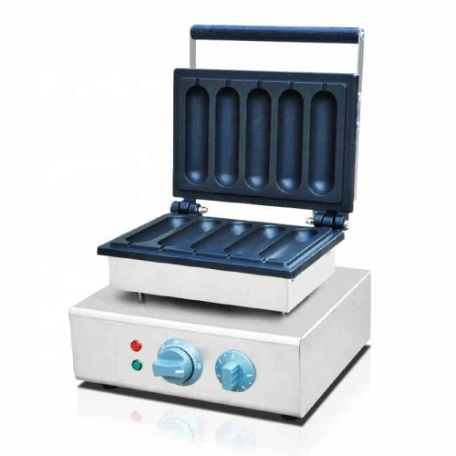 Hot Dog Stick Machine Grilled Hot Dog Machine Electric Sausage Cooker Smooth Surface