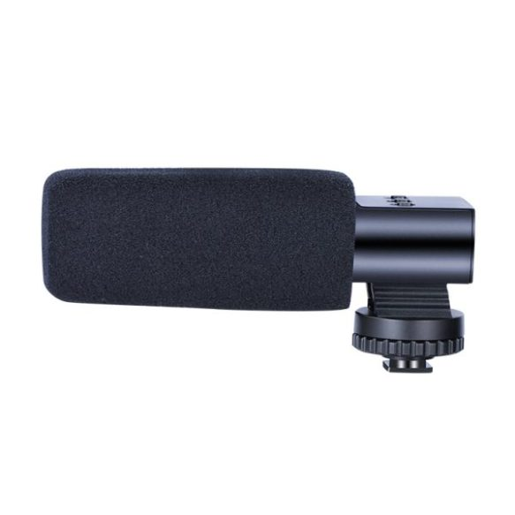 microphone MIC-02 Aluminum Alloy Camera Microphone Condenser Recording Microphone 3.5mm MIC