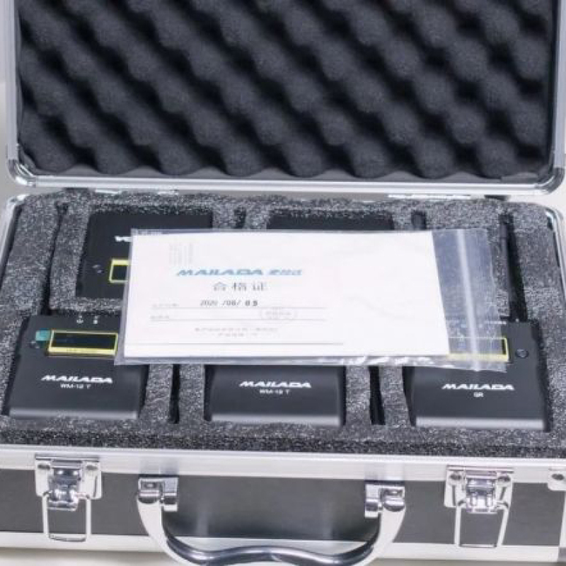 Vloggears Mailada WM12Q professional wireless lavalier microphone one with four