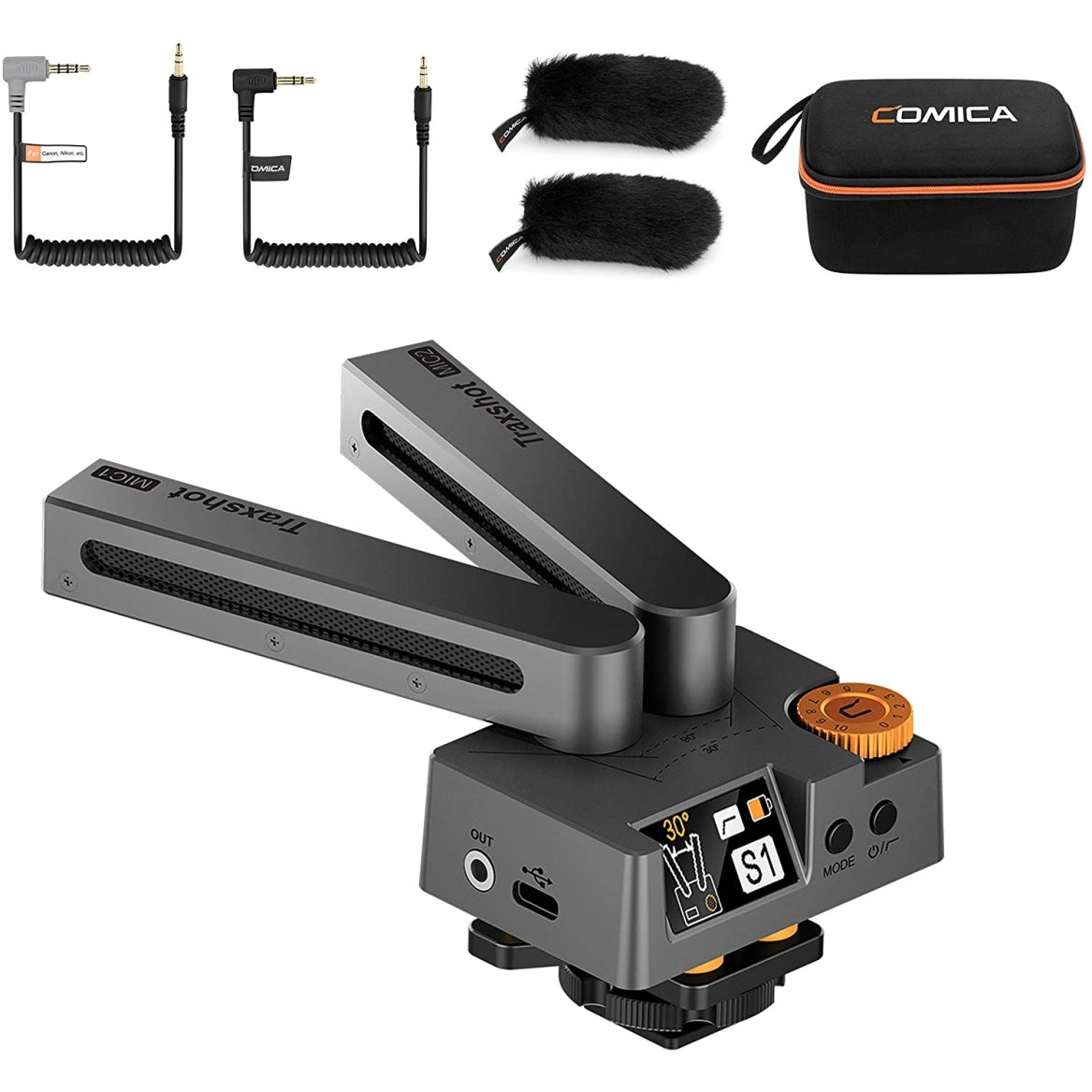 Vloggears Comica Traxshot  Video Microphone