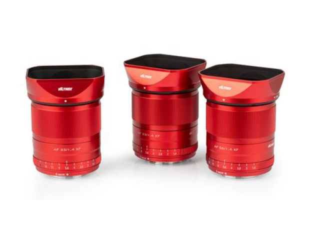 VILTROX INTRODUCES LIMITED SERIES OF RED LENSES,