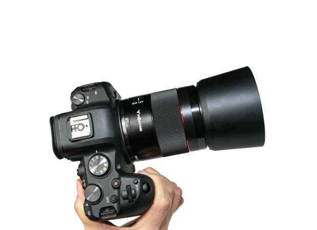 Annonce de l'objectif Yongnuo YN 85mm f/1.8R DF DSM pour monture Canon RF