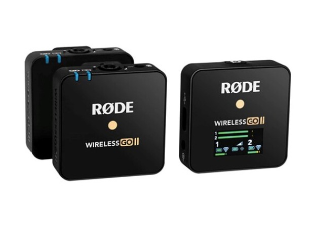Rode's new Wireless Go II system now offers dual channel recording