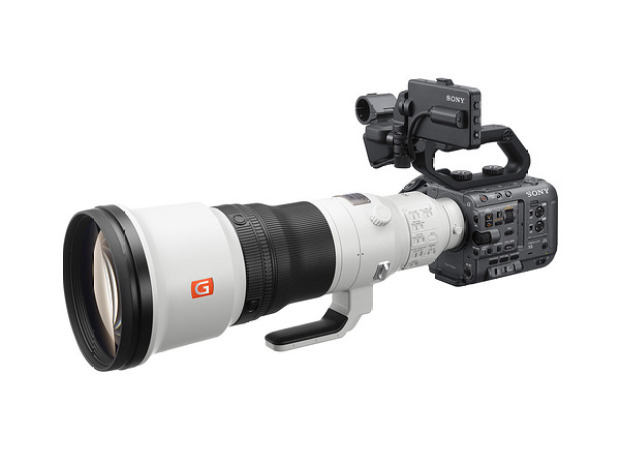 Sony FX6 full-frame cinema camera with 10-bit 4:2:2 4K/120p