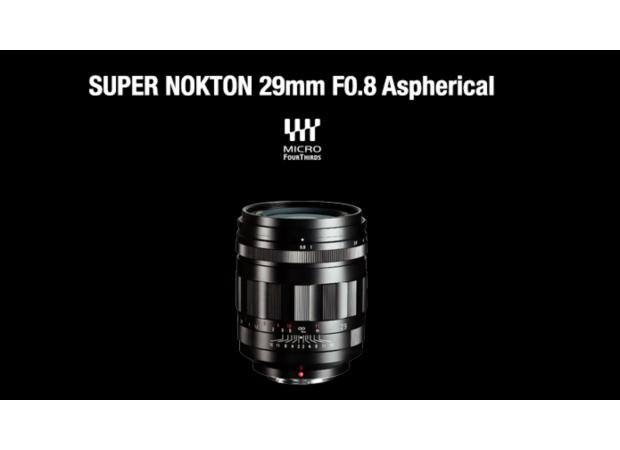 The Voigtlander Super Nokton 29mm f/0.8 Aspherical Lens