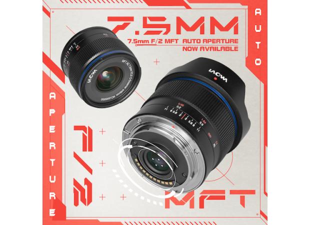 Objectif Laowa 7.5 mm f/2 MFT