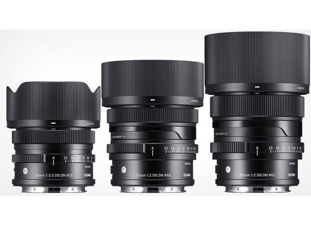 Sigma 24mm f/3.5, 35mm f/2.0, and 65mm f/2.0 DG DN coming soon