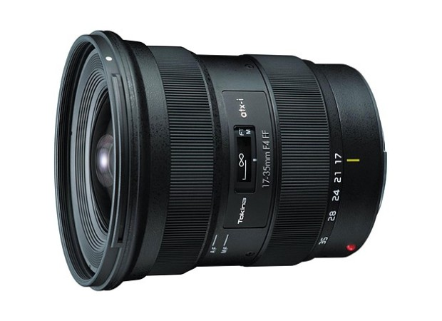Tokina has also revealed its latest lens for Canon EF and Nikon F mount DSLR cameras, the atx-i 17–35mm F4.