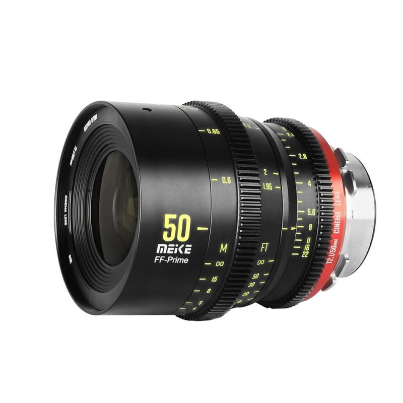 Vloggears Prime 50mm T2.1 Cine Lens for Full Frame Cinema Camera