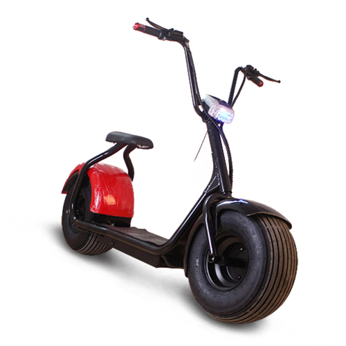 Good mid electrical motor motorcycle citycoco 1500w  electric scooter for adult