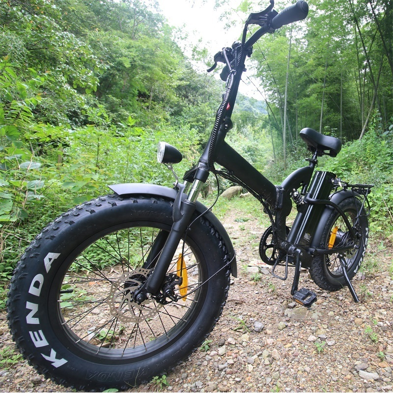 European electric bicycle 500w ebike foldable adult electric bike with 20inch mountain tyre and removable battery 48v15ah
