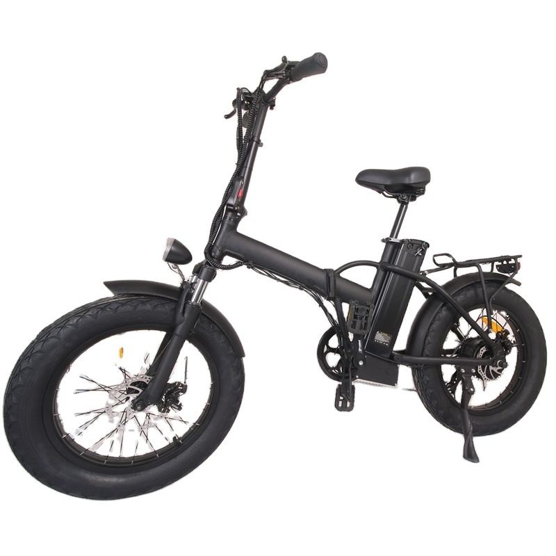 Eu warehouse 350w electric bike adult electric bicycles mountain ebike China with 20 inch fat tire Removable battery 48v