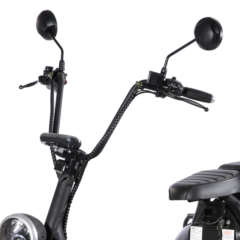 EEC 3 wheel electric motorcycle Adult Double seats Motor 1500W Power Battery 60V Electric scooter with 10 inch tires