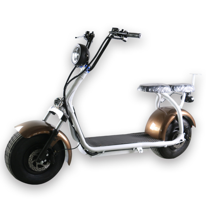 Low price powerful motorcycle citycoco fast china electric scooter in stock