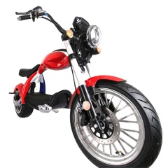 city coco electric adult scooters 2000w 12/20ah front and rear suspension high speed motorcycle
