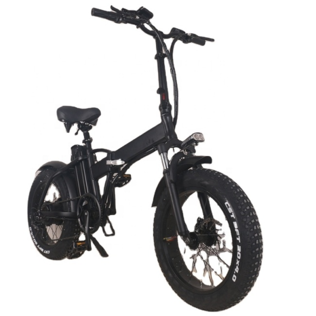 350w electric bicycle 48v Removable Battery electric bikes folding ebike with 20 inch tires