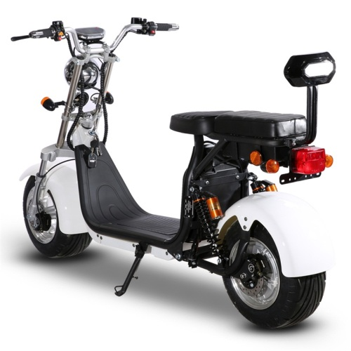 Electric motorcycle with EEC Adult Citycoco with motor 1500W Power Removable Battery 60V Electric scooter with 10 inch tires