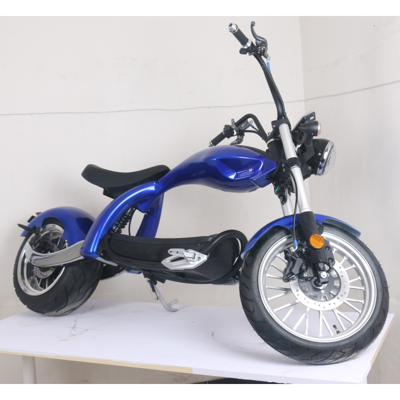 Cool wide wheel citycoco 2000w Electric Motorcycle Scooter European Warehouse adult citycoco