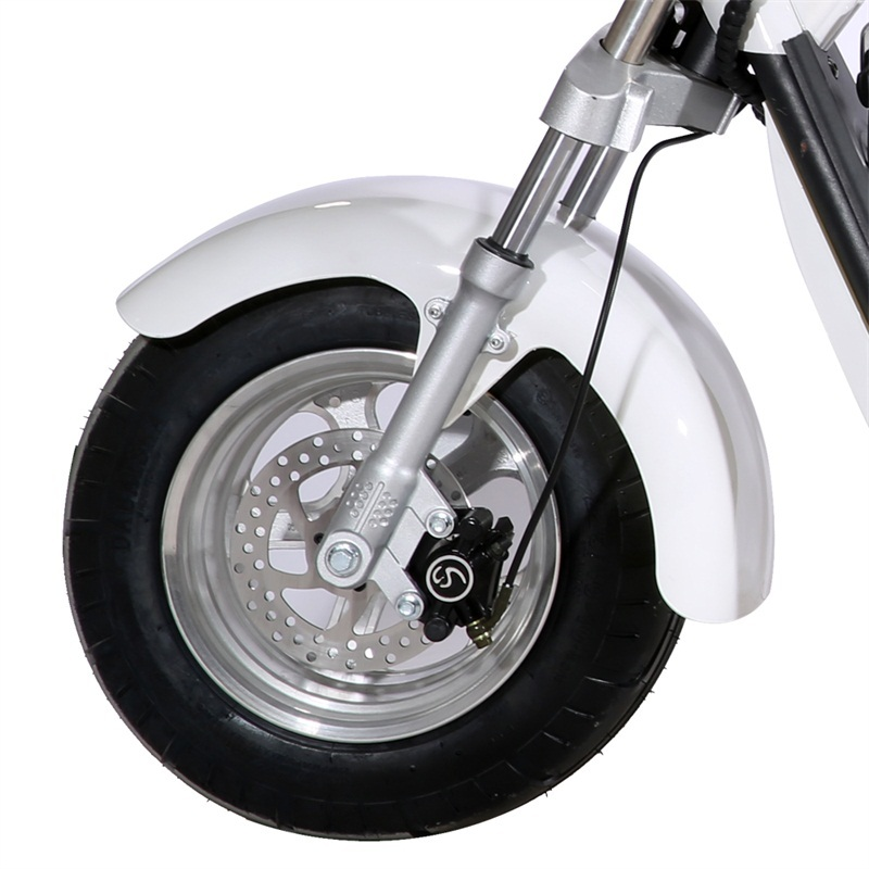 Electric motorcycle with EEC Adult Citycoco with motor 1500W Power Removable Battery EU warehouse stock