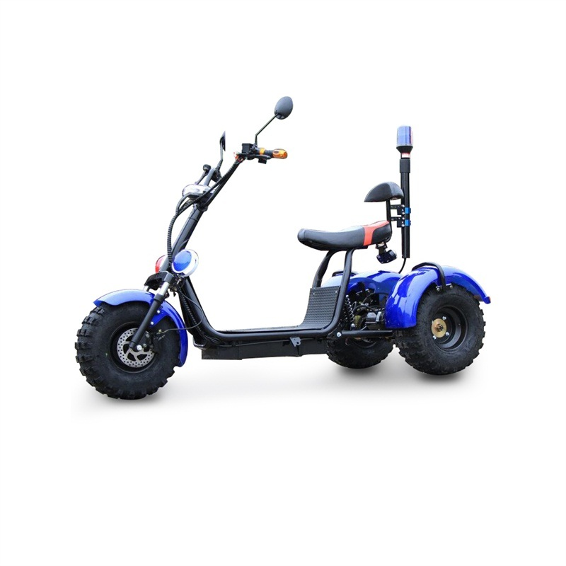 High speed 1500W electric motor tricycle Adults electric motor car with 8 inch tires Removable battery 60V