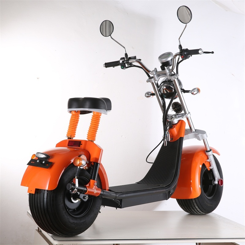 EU Warehouse Electric scooter 60v Electric motorcycles with 8 inch tiresCitycoco for adults with EEC
